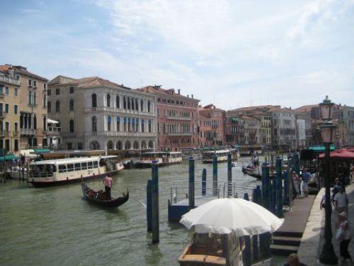 Blick über Venedig