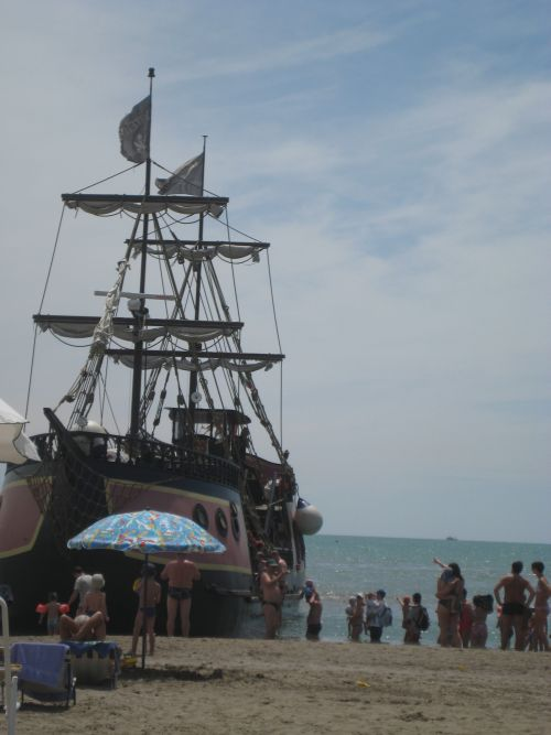 Piratenschiff Jesolo