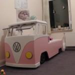 First Inc. Motorclub VW Bulli Bett