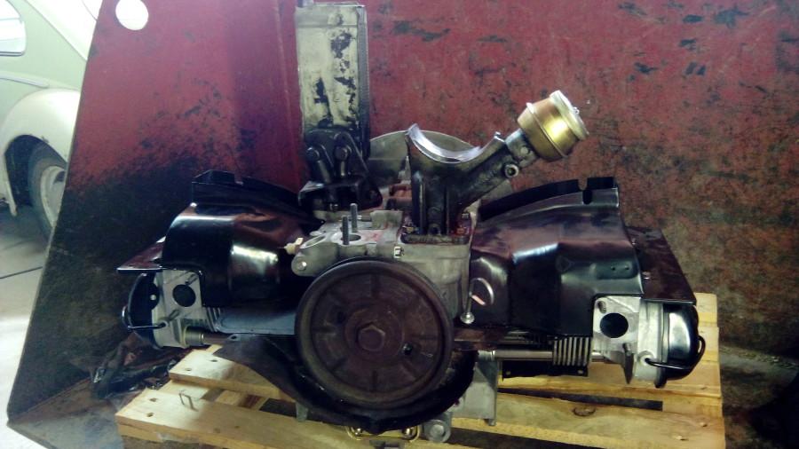 Motor ohne Bolzen