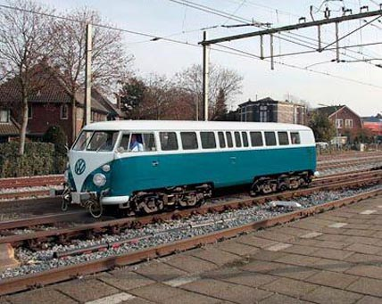 VW-Bus-Zug