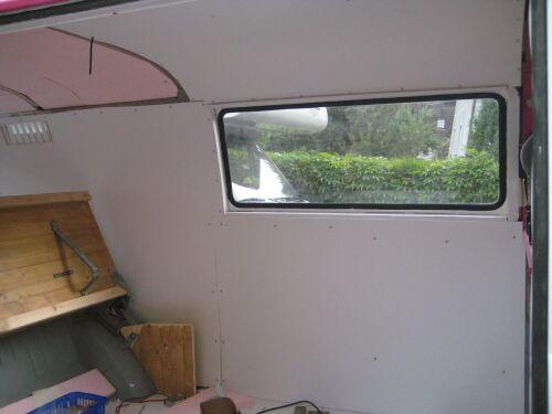 Wandverkleidung VW Bus