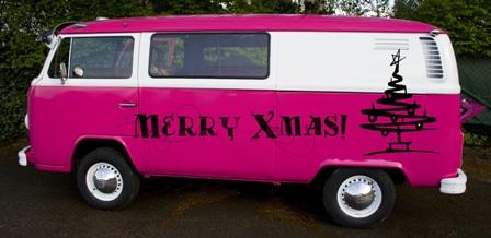 Bulli wünscht Frohe Weihnachten